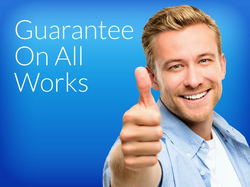 Guarantee On All Works